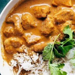 tikka masala con arroz