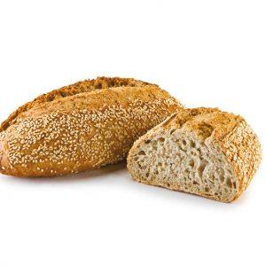 pan con espelta y sésamo