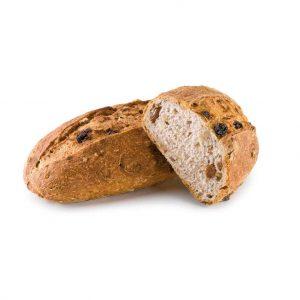 pan con pasas y nueces