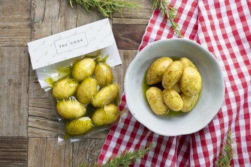 Patatas Baby Con Hierbas Al Vacío