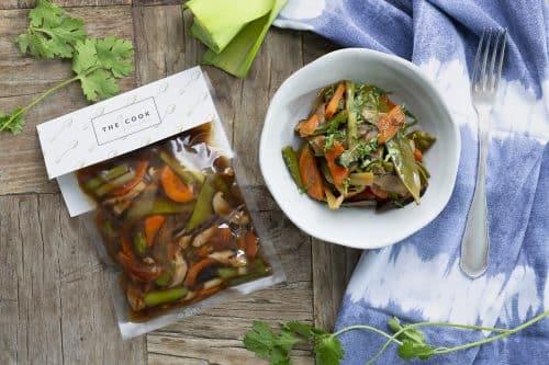 Verduras Glaseadas Con Salsa Teriyaki Al Vacío