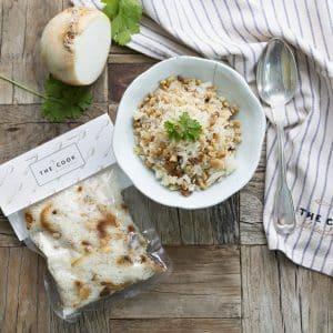 comprar arroz con pasas, piñones y cebolla frita