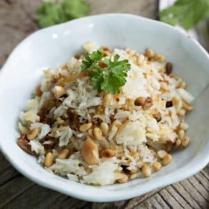 comprar arroz con pasas y piñones