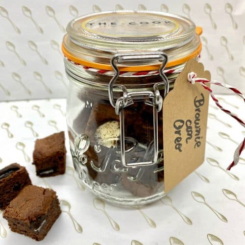Brownie Con Oreo Madrid
